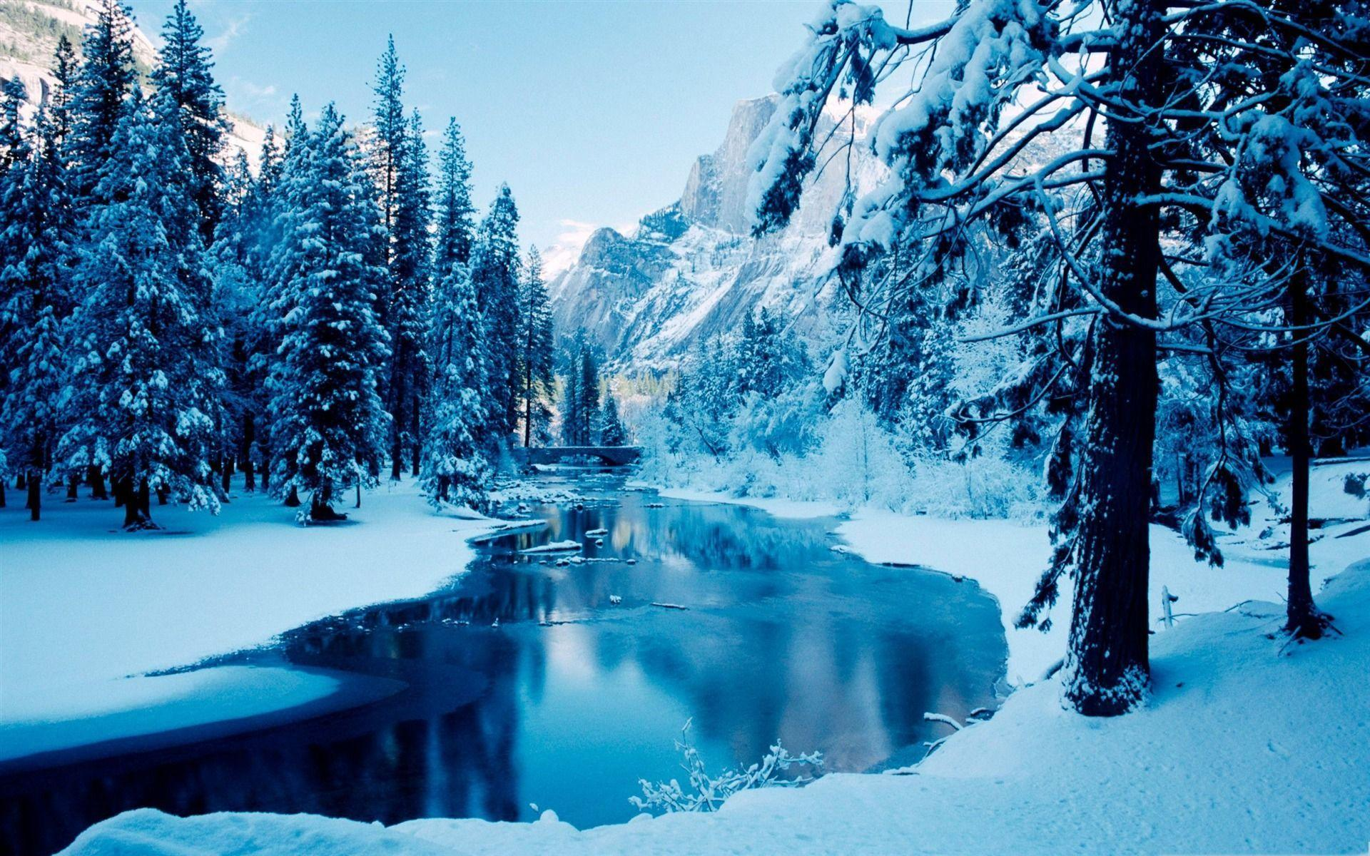 Обои Зима День Рождения