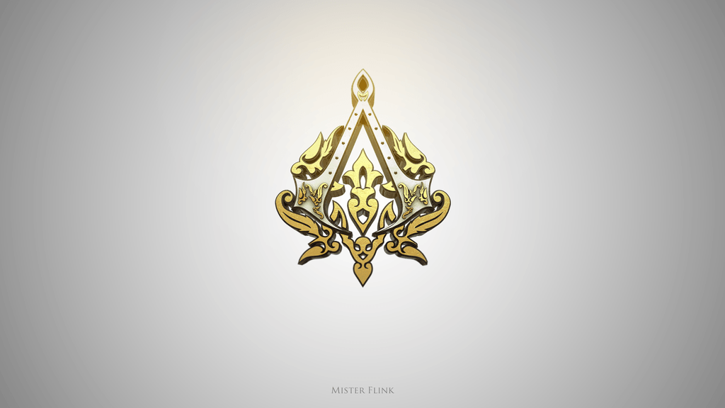 Assassin&Creed Golden Logo V1 by Flink