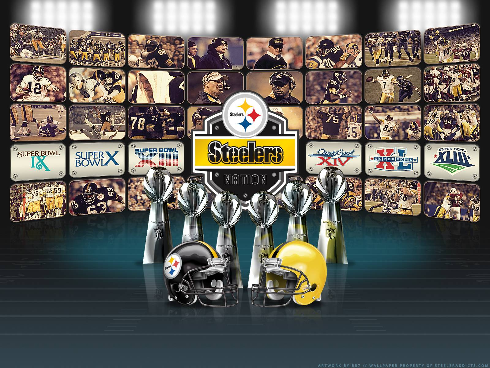 Pittsburgh Steelers Super Bowl Wallpaper - Viewing Gallery