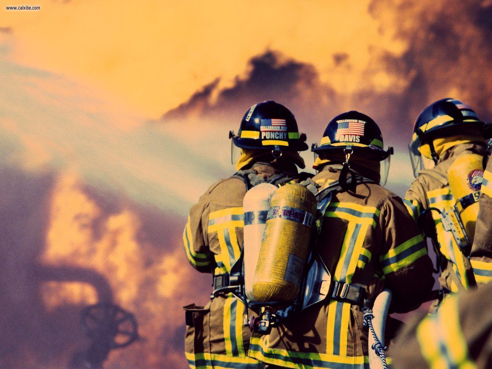 Hd Firefighter Wallpaper For Computer 5418