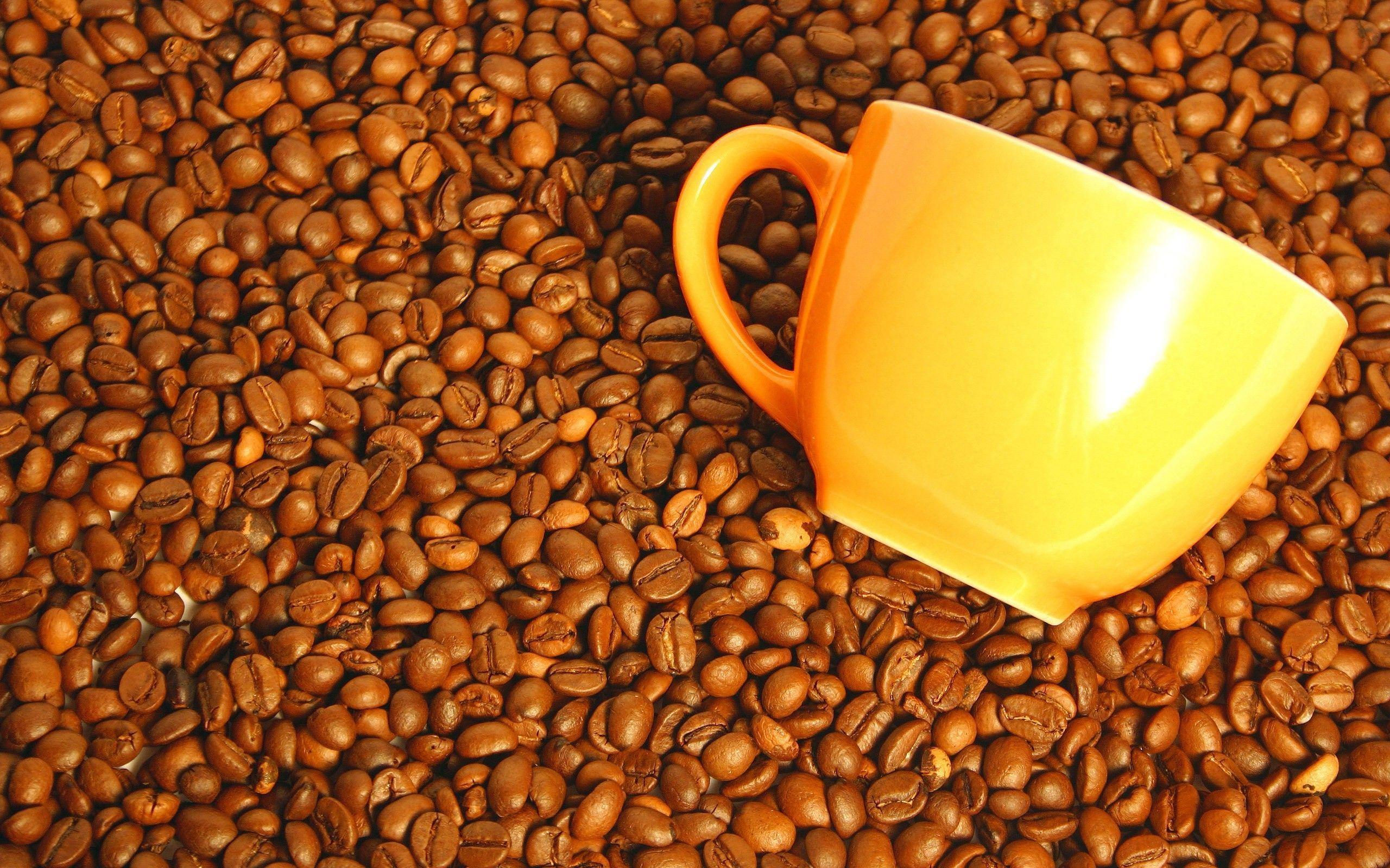 Coffee Beans Desktop Background