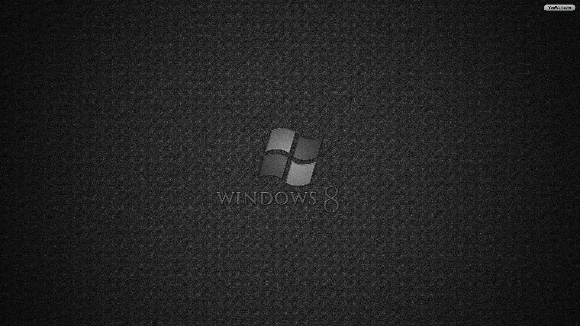 Black windows wallpapers wallpaper cave for Windows 8 bureaublad