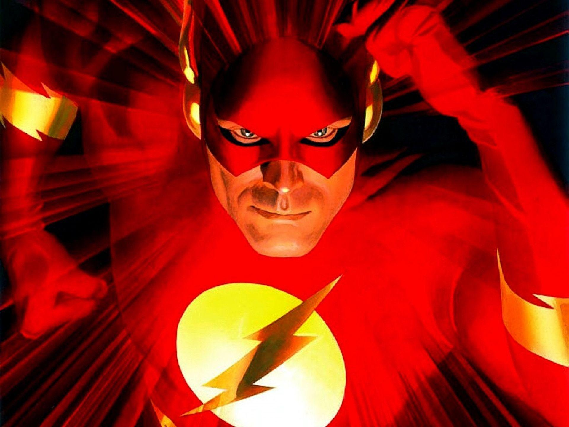 Wallpapers For > The Flash Superhero Wallpapers