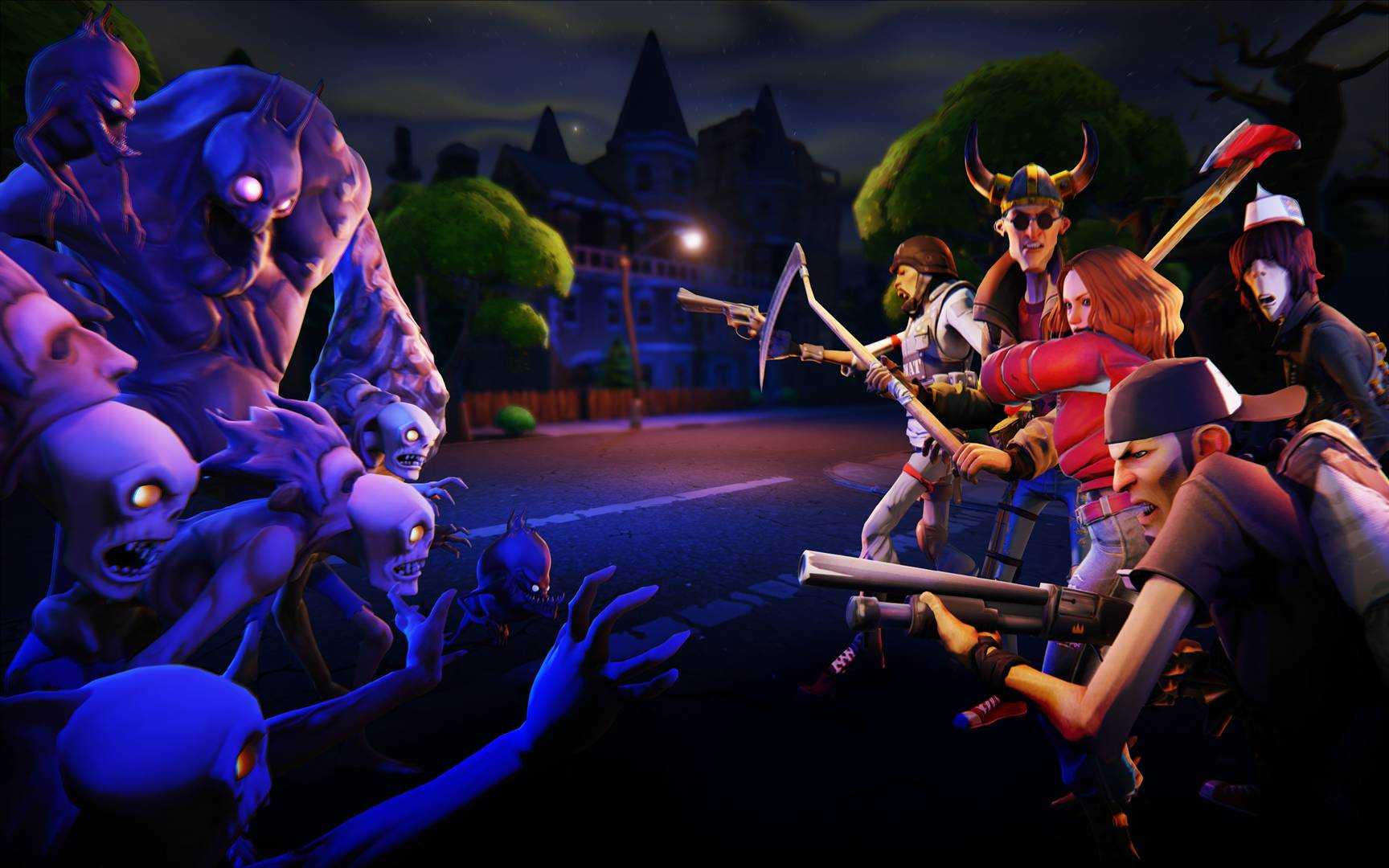 epic games fortnite wallpapers « GamingBolt: Video Game News