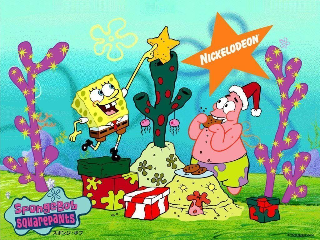 Spongebob Squarepants Christmas Wallpaper Download HD | Cartoons ...