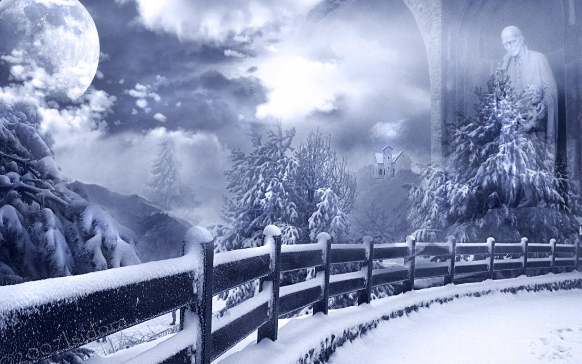 high resolution wallpaper christmas winter - photo #38