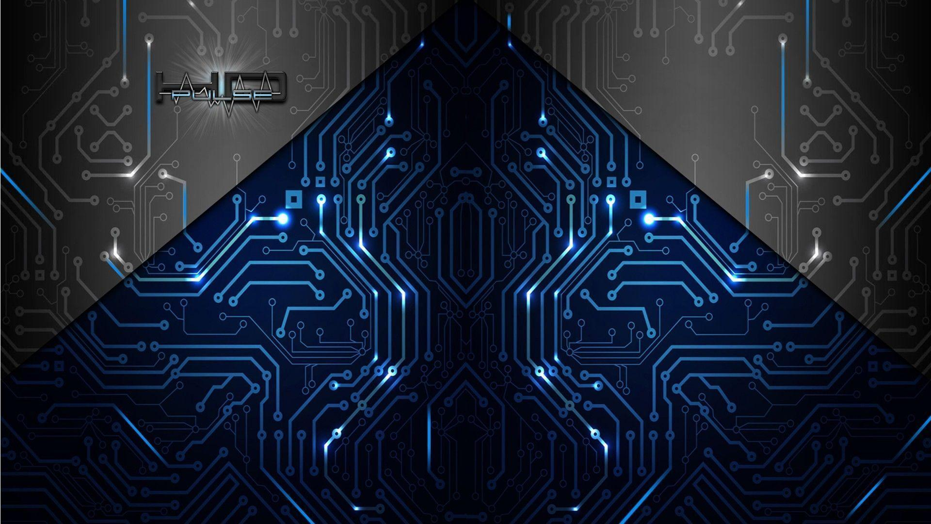 Wallpapers For > Black Circuit Board Wallpapers