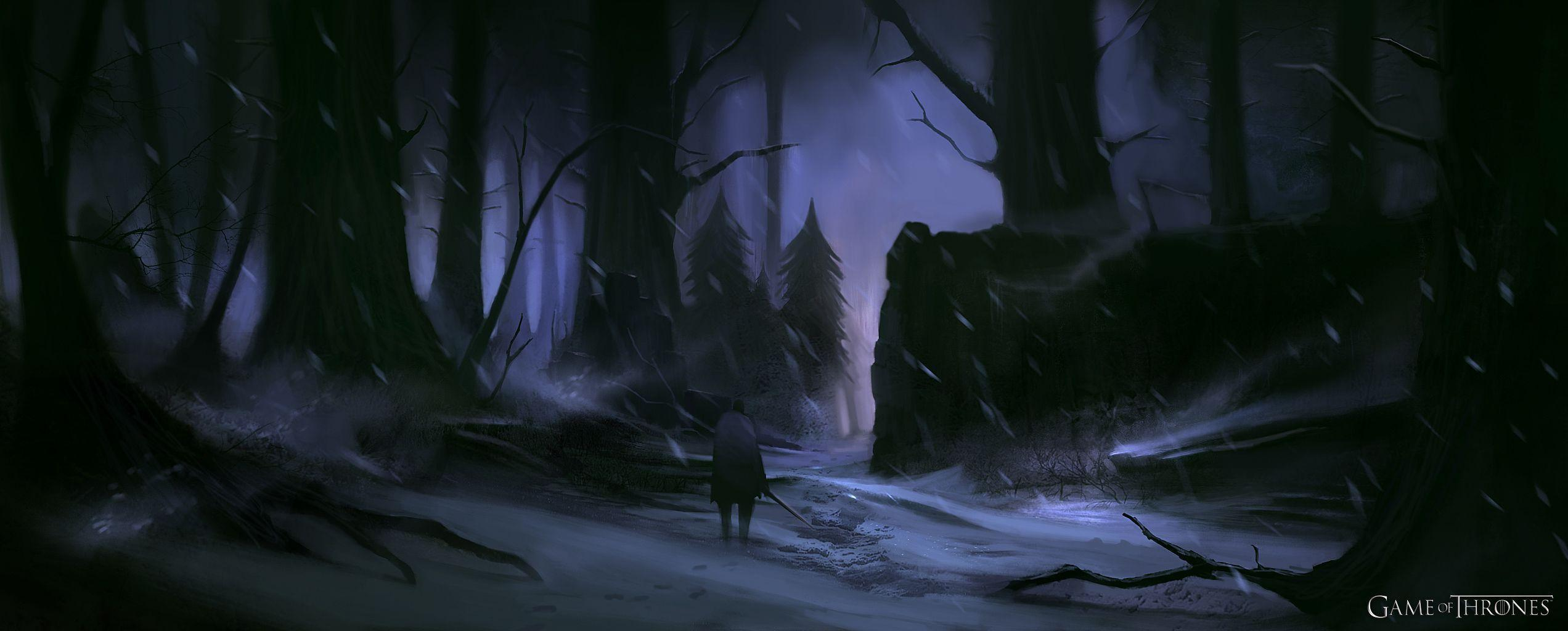Game of Thrones Game Snow Storm Wallpaper
