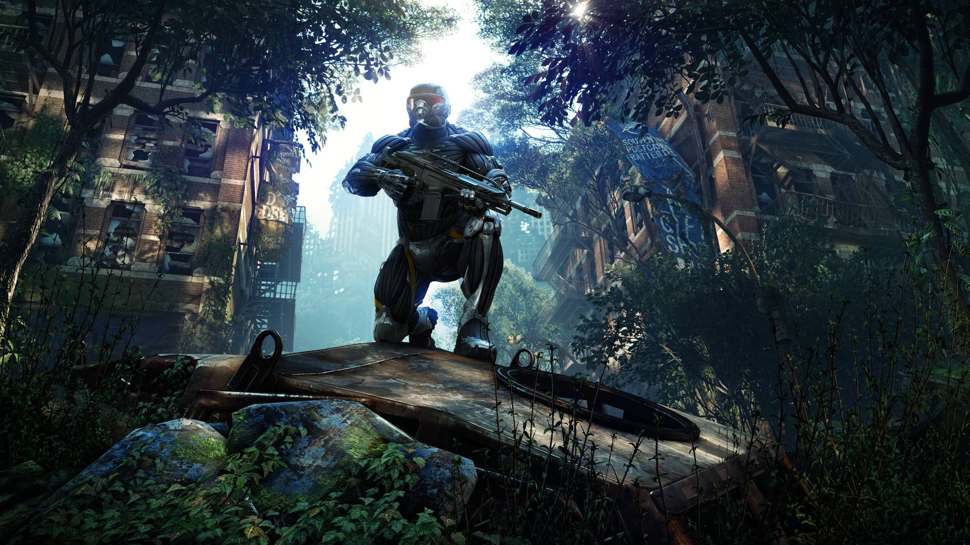 Crysis 3 wallpapers wallpaper cave for Wallpaper three