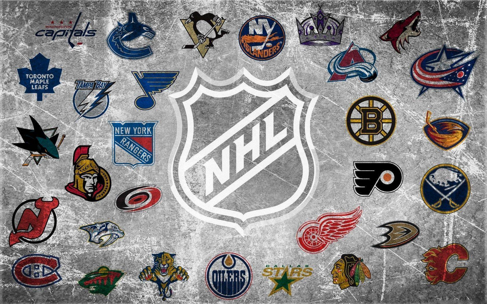 Nhl Logo Wallpapers Wallpaper Cave