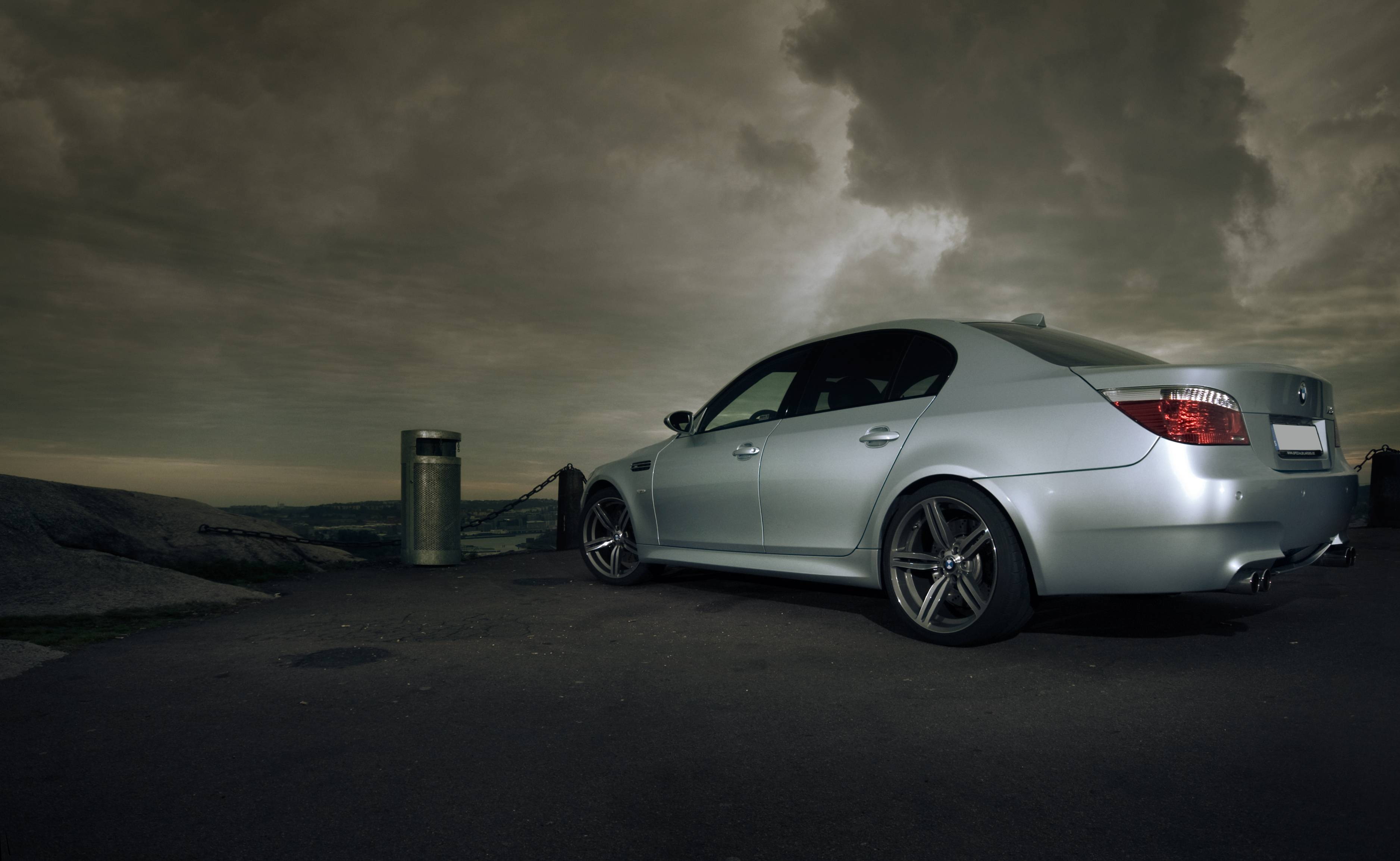 Black Bmw M5 Wallpapers