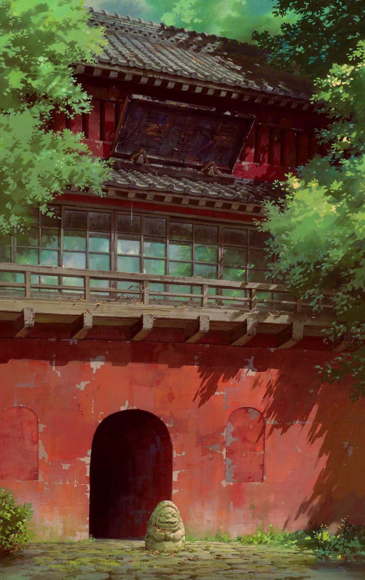 Spirited Away Backgrounds - Wallpaper Cave