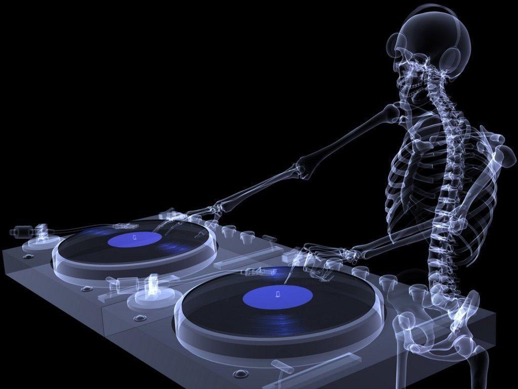 Xray Music Wallpapers: DJ Turntable Wallpapers