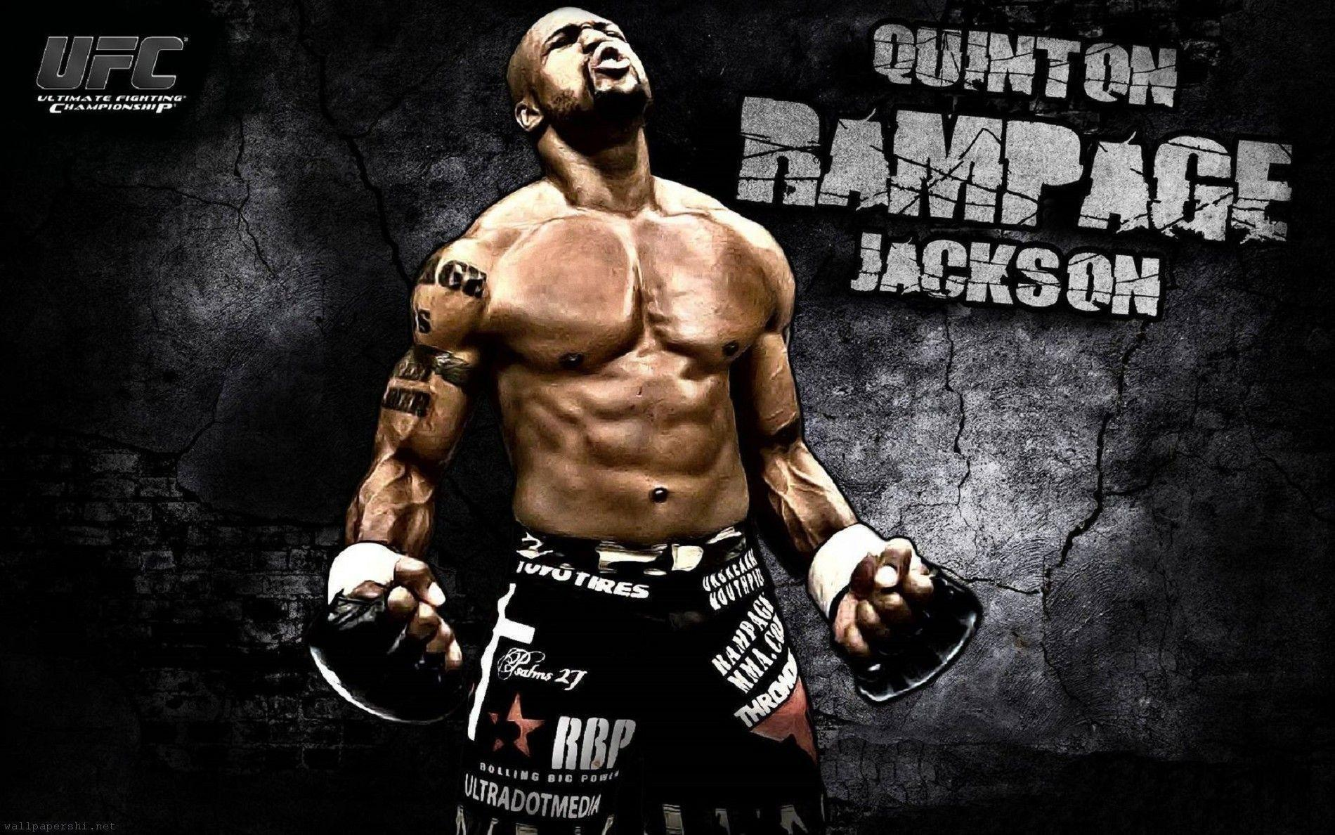 Mma Ufc Quinton Jackson Fighter Mixed Martial Arts