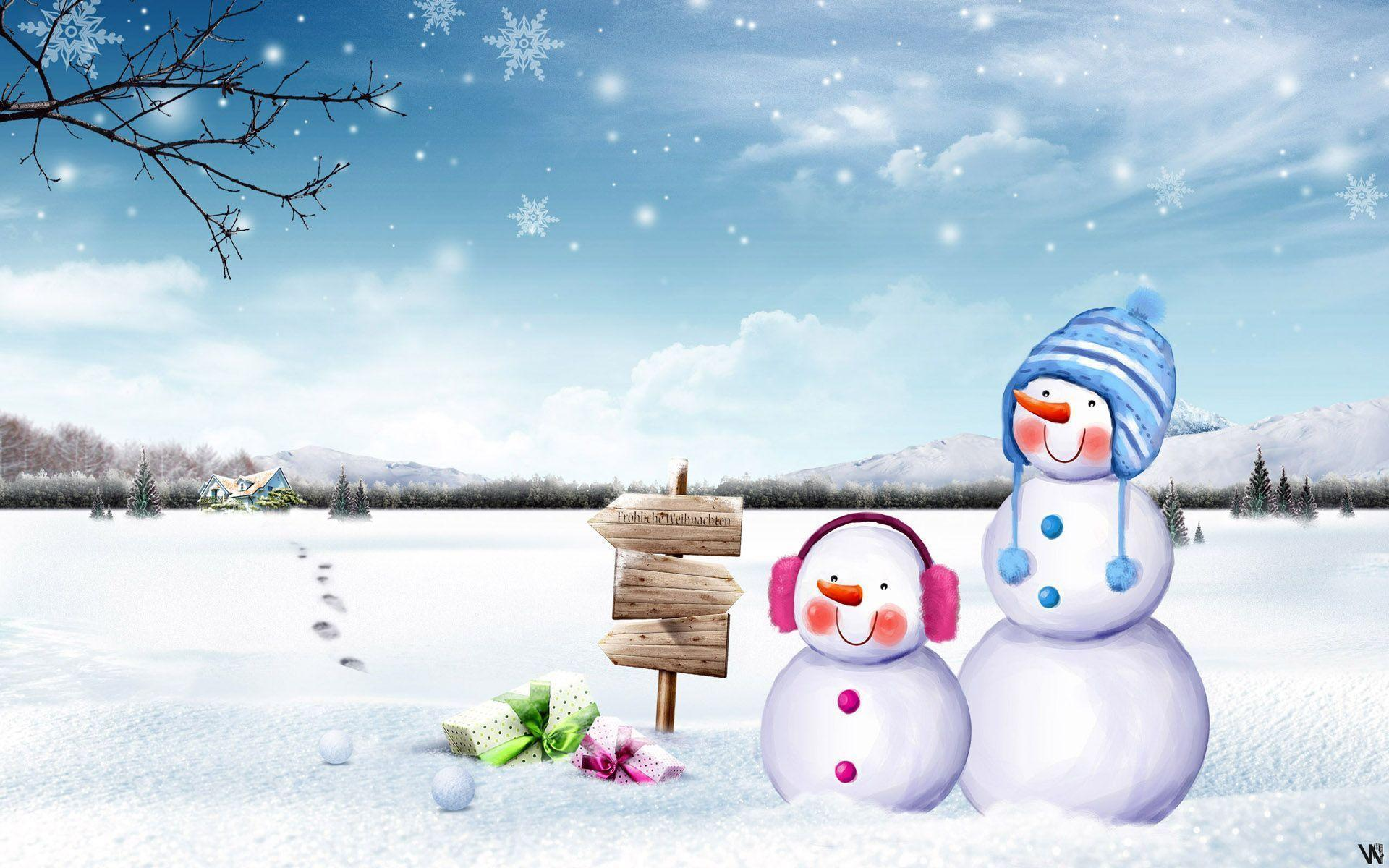 cute country snowman wallpaper - photo #40
