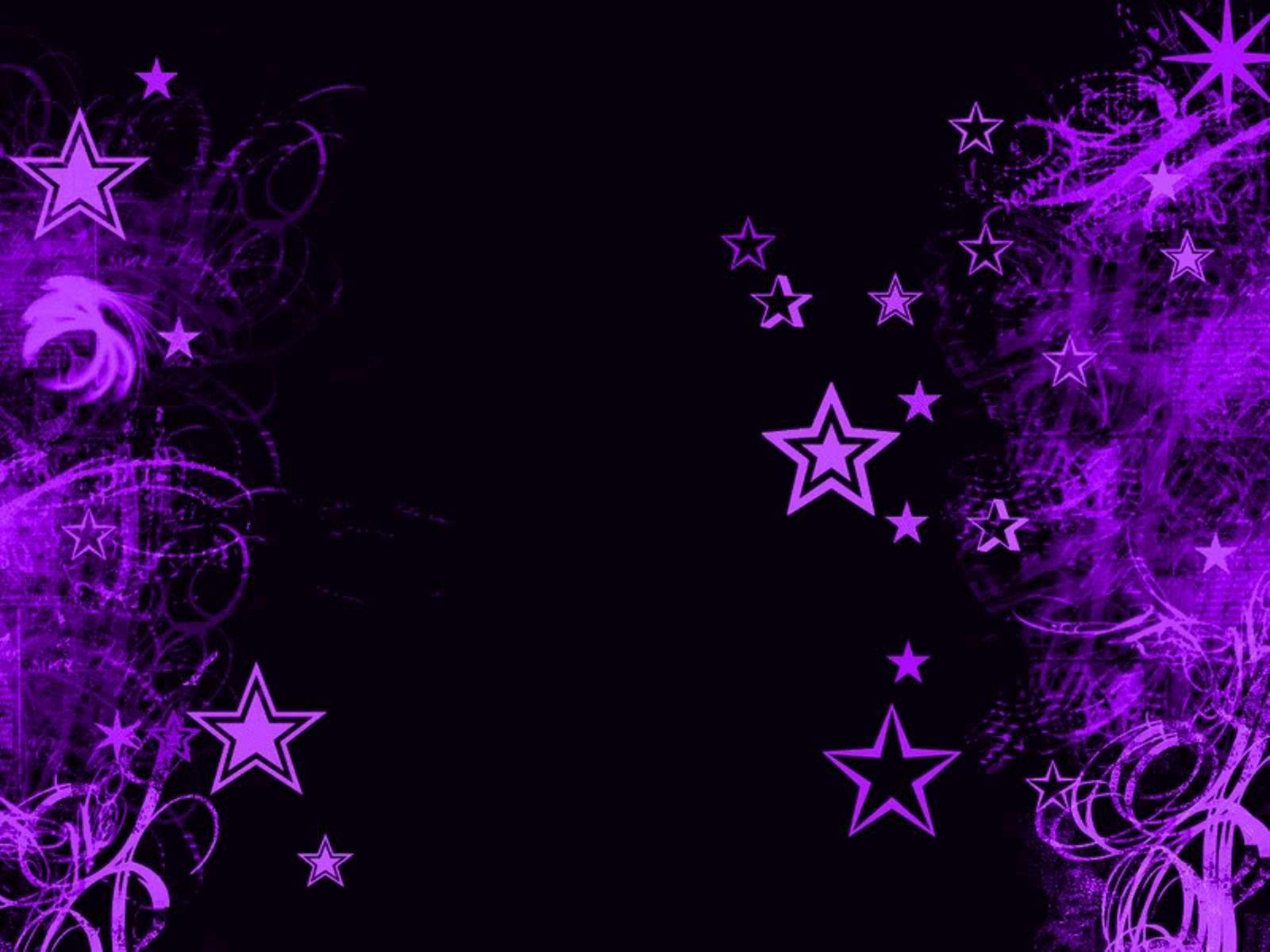 Purple And Black Hearts Wallpaper: Black And Purple Backgrounds