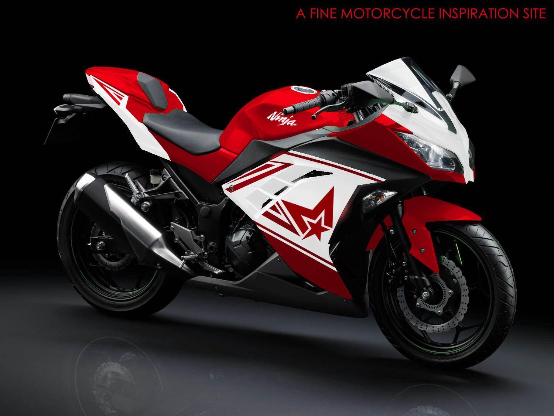 Kumpulan Gambar Wallpaper Motor Ninja Terbaru Term Modifikasi Motor