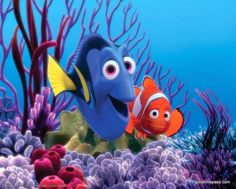Finding Nemo 3D Movie Wallpapers
