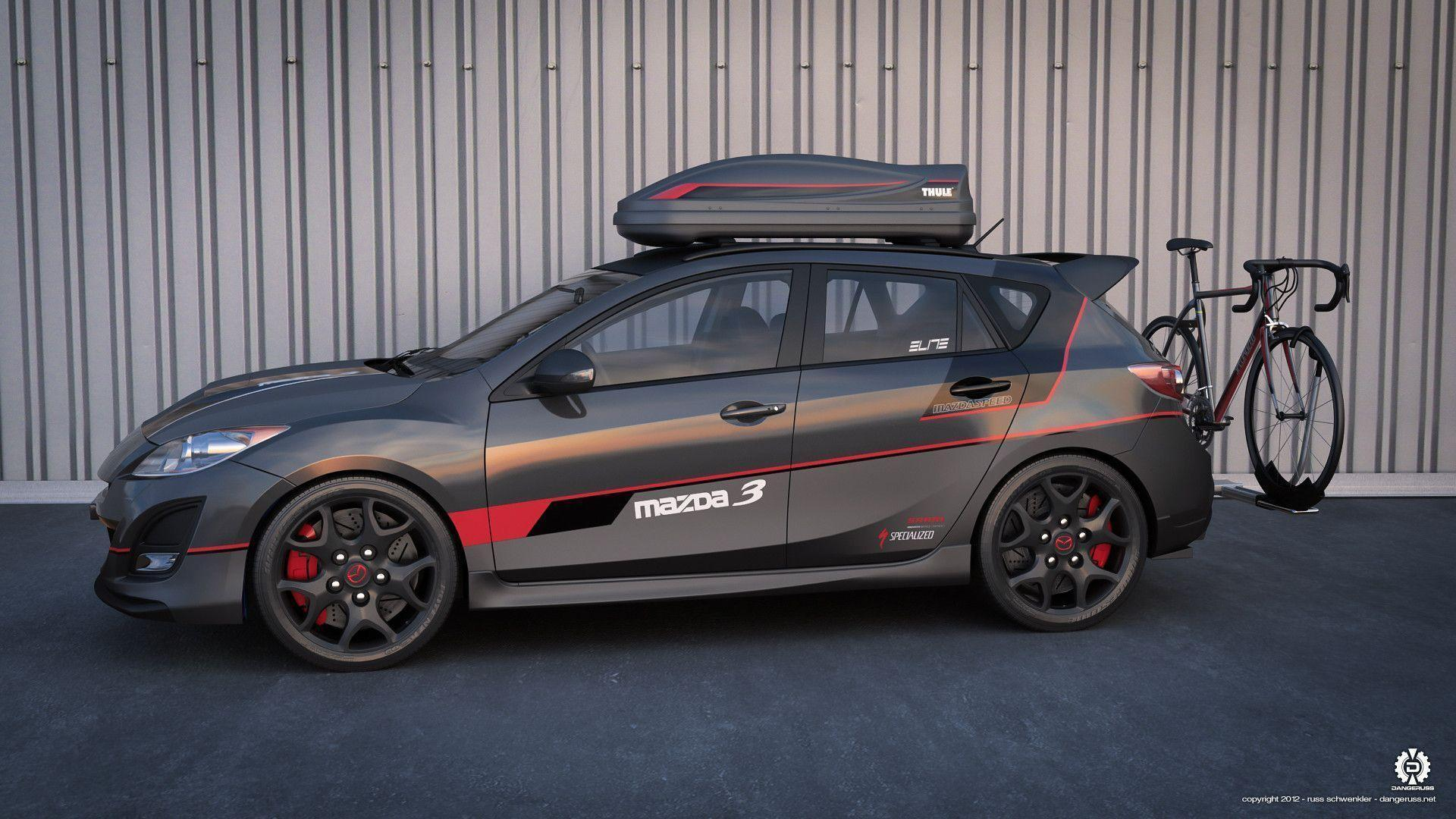 Mazdaspeed 3 cycling edition 01 by dangeruss