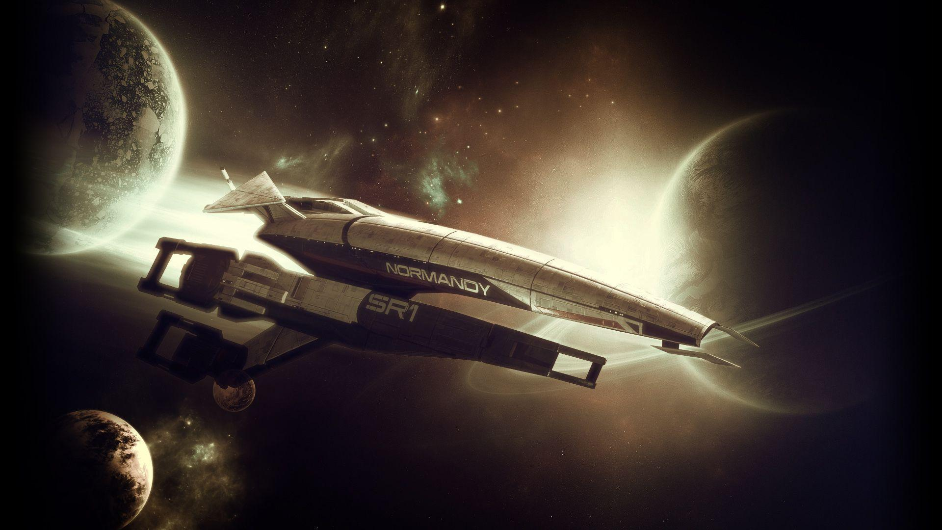 Mass Effect Normandy wallpapers