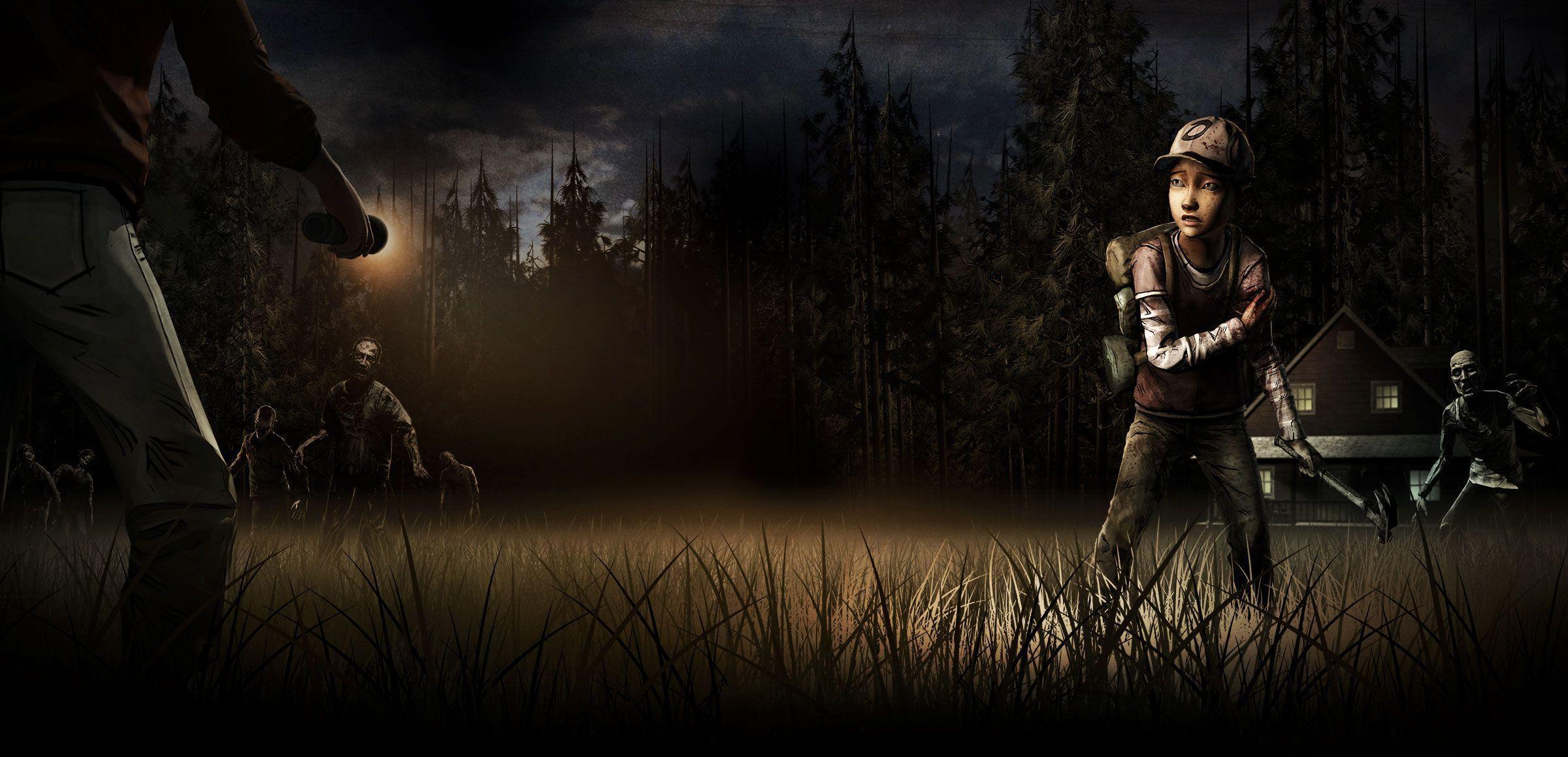 The Walking Dead Temporada 6 Cartel Fondos Fondos De: The Walking Dead Game Wallpapers