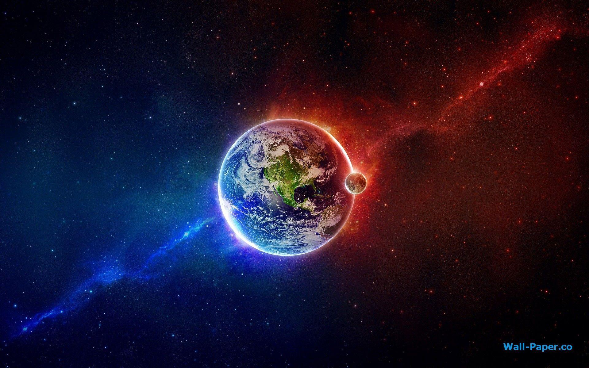 Earth Desktop Wallpapers Wallpaper Cave