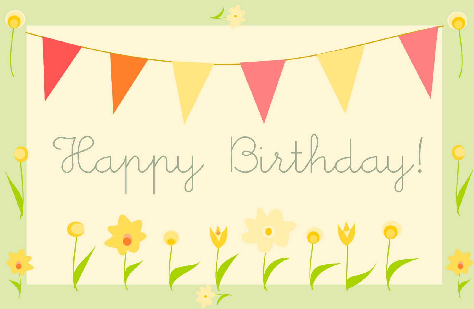 Birthday card backgrounds wallpaper cave - Happy birthday card wallpaper ...