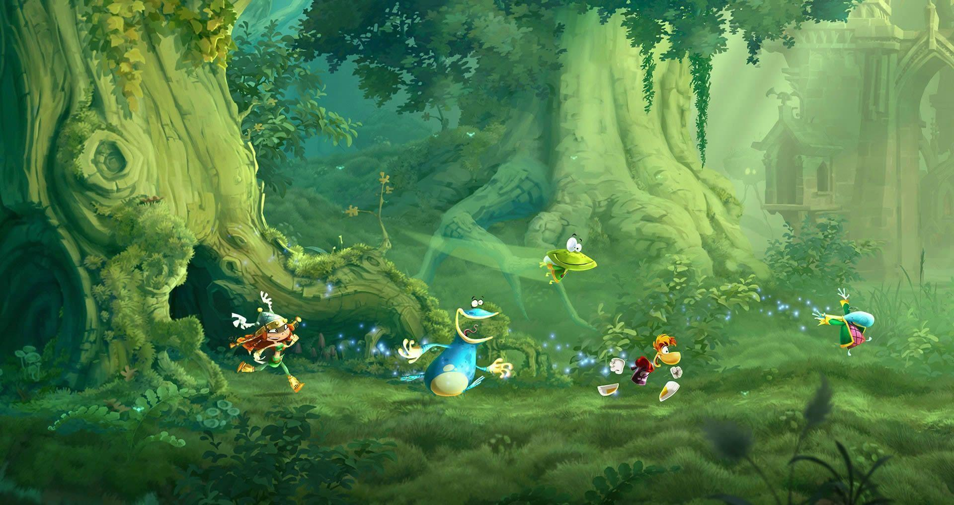New Rayman Legends screenshots hint at 1080p game resolution