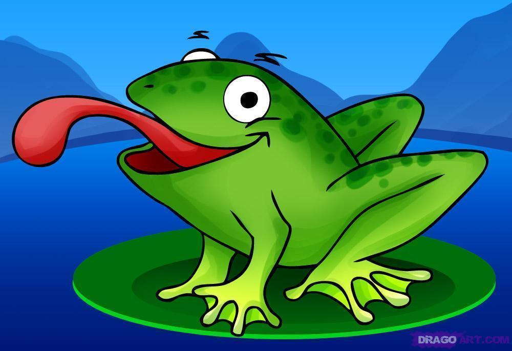 cartoon frog pictures - photo #3
