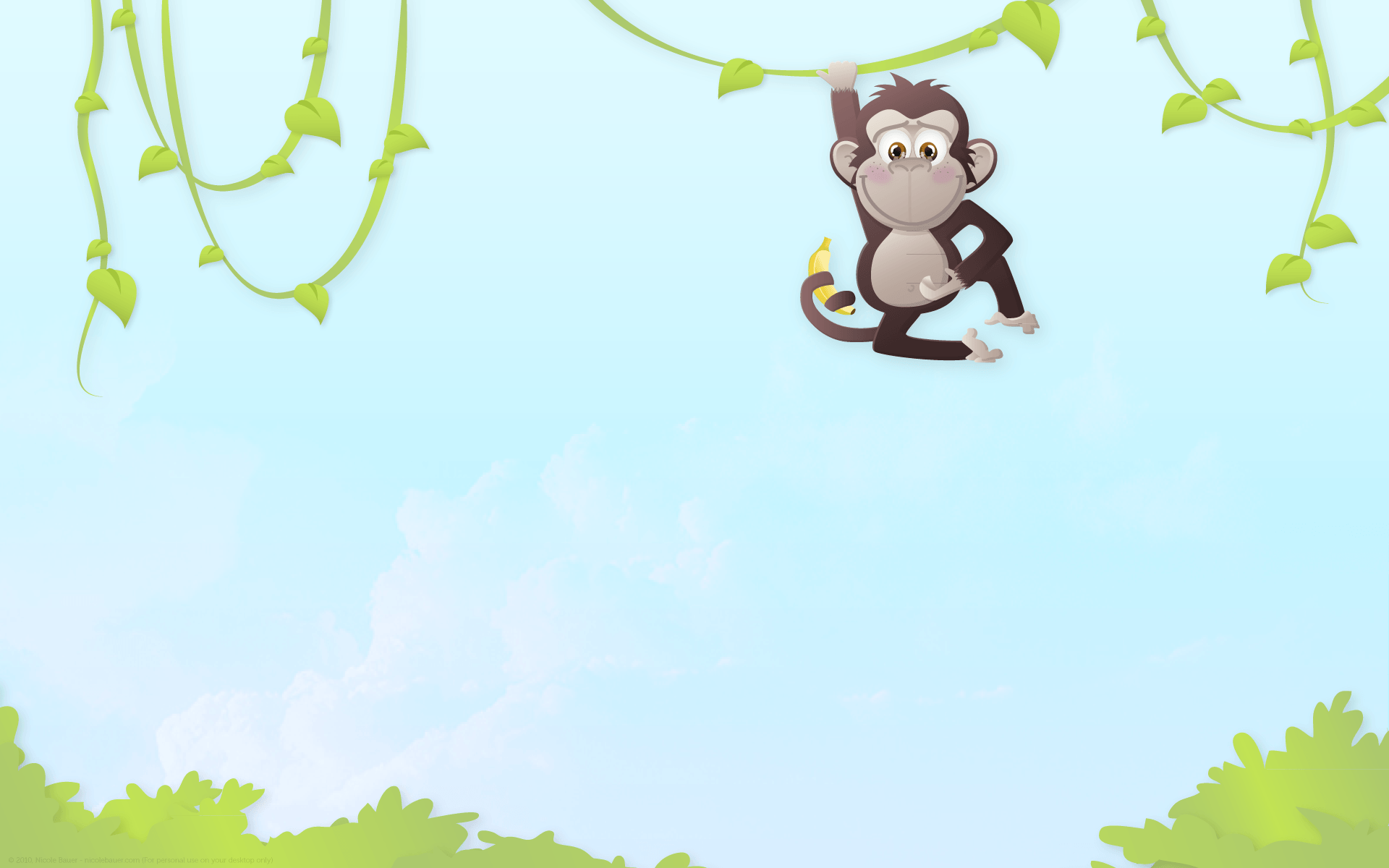 japanese wallpaper cartoon monkey - photo #15