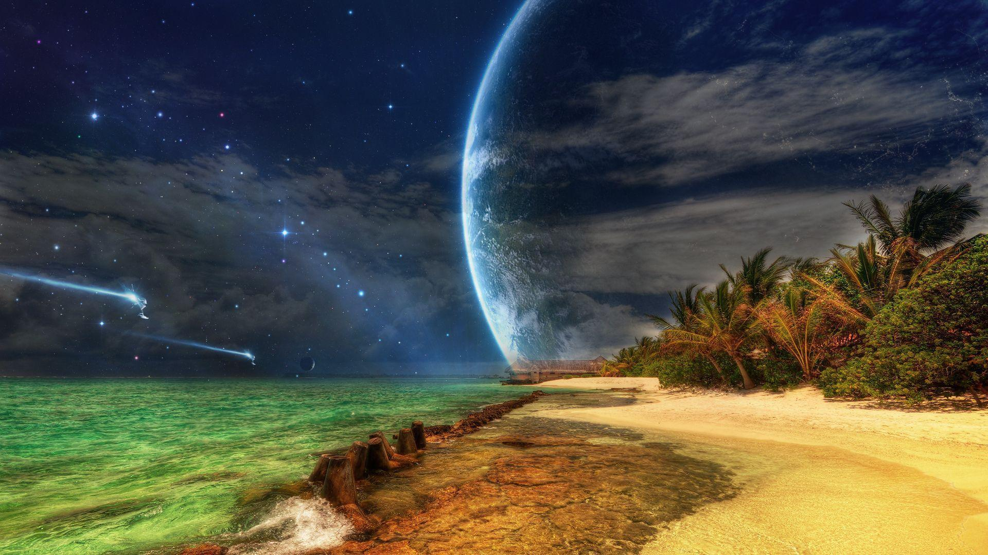 tropical island backgrounds - photo #43