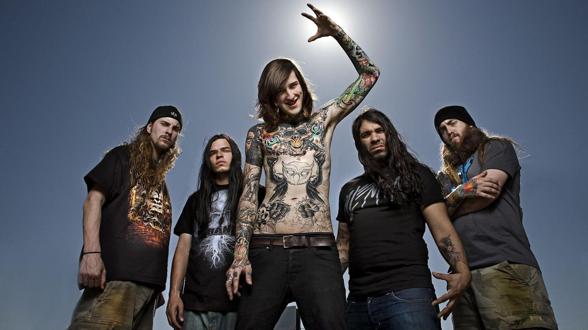 Suicide Silence Computer Wallpapers, Desktop Backgrounds 1920x1080