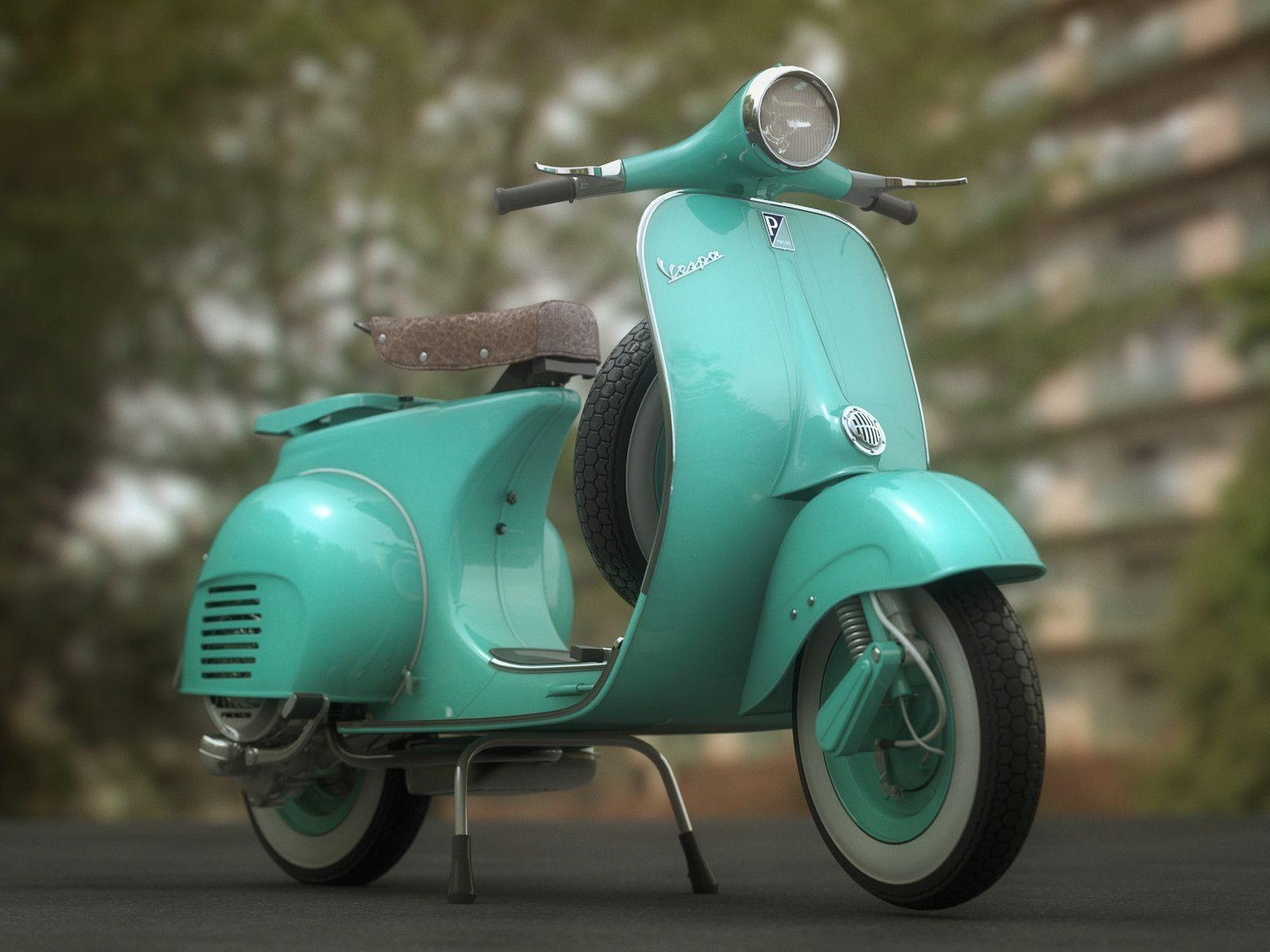 Vespa Wallpapers Wallpaper Cave