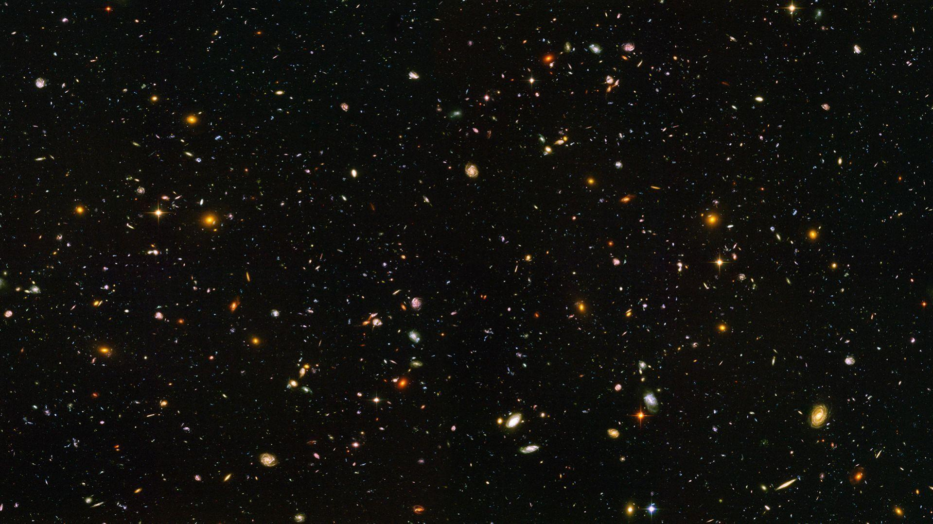 hubble deep field wallpaper 1600x1200-#16