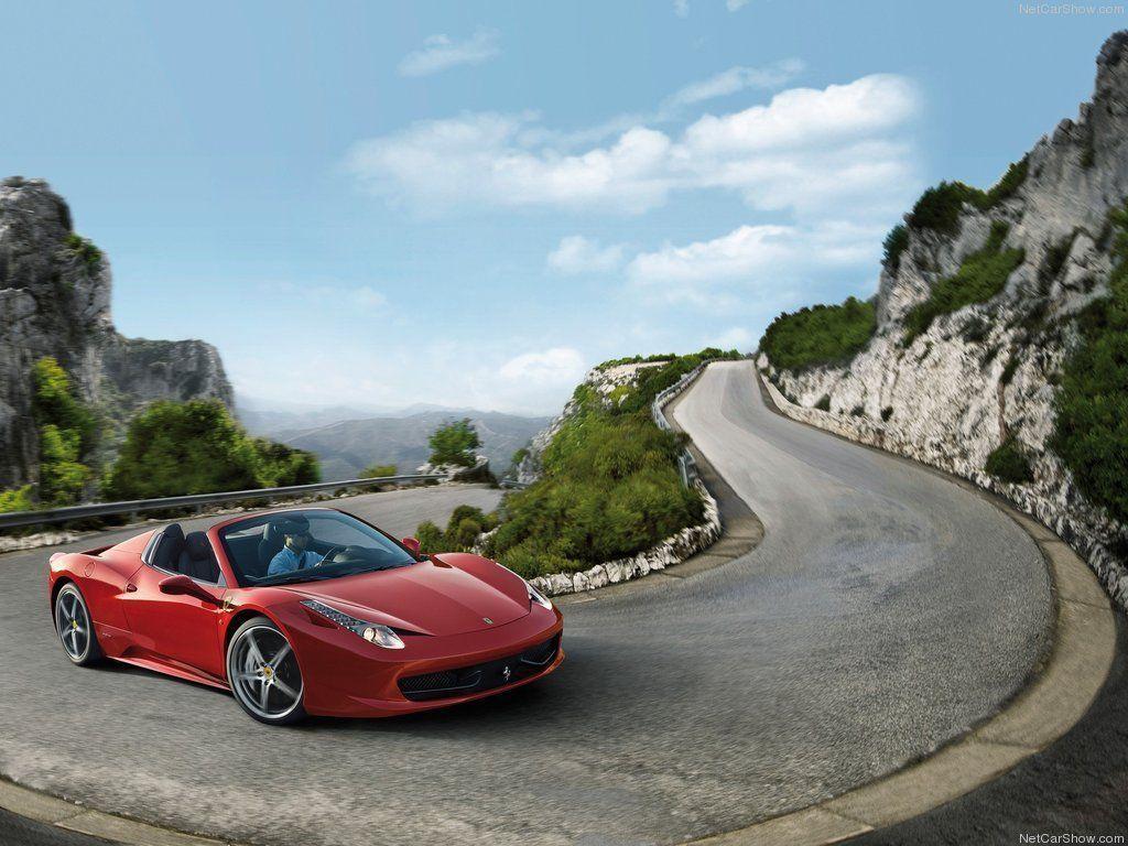 ferrari 458 spider wallpaper 1366x768 driverlayer search engine - Ferrari 458 Blue Wallpaper