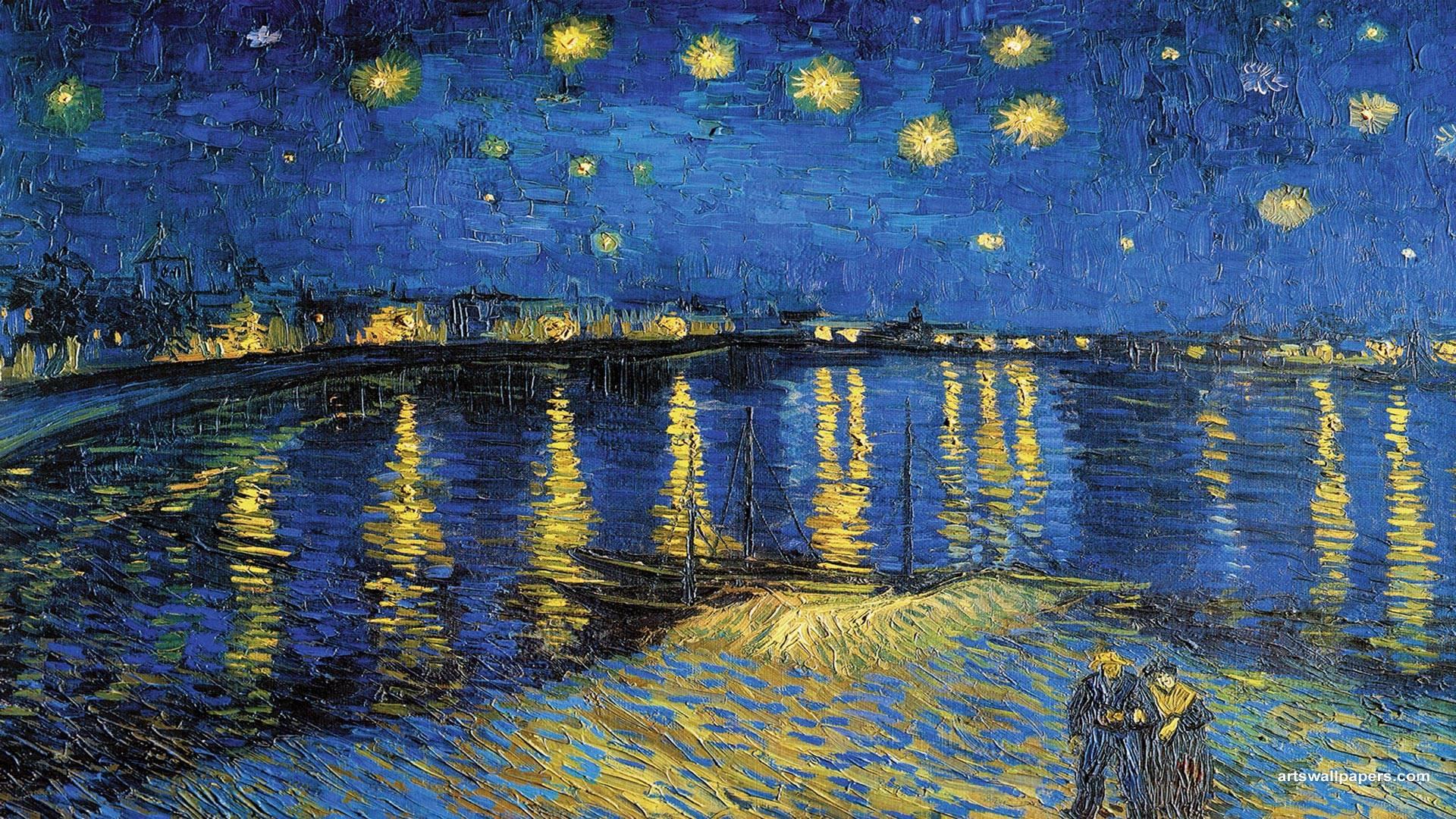 Starry Night Wallpapers - Wallpaper Cave |Van Gogh Wallpaper Starry Night