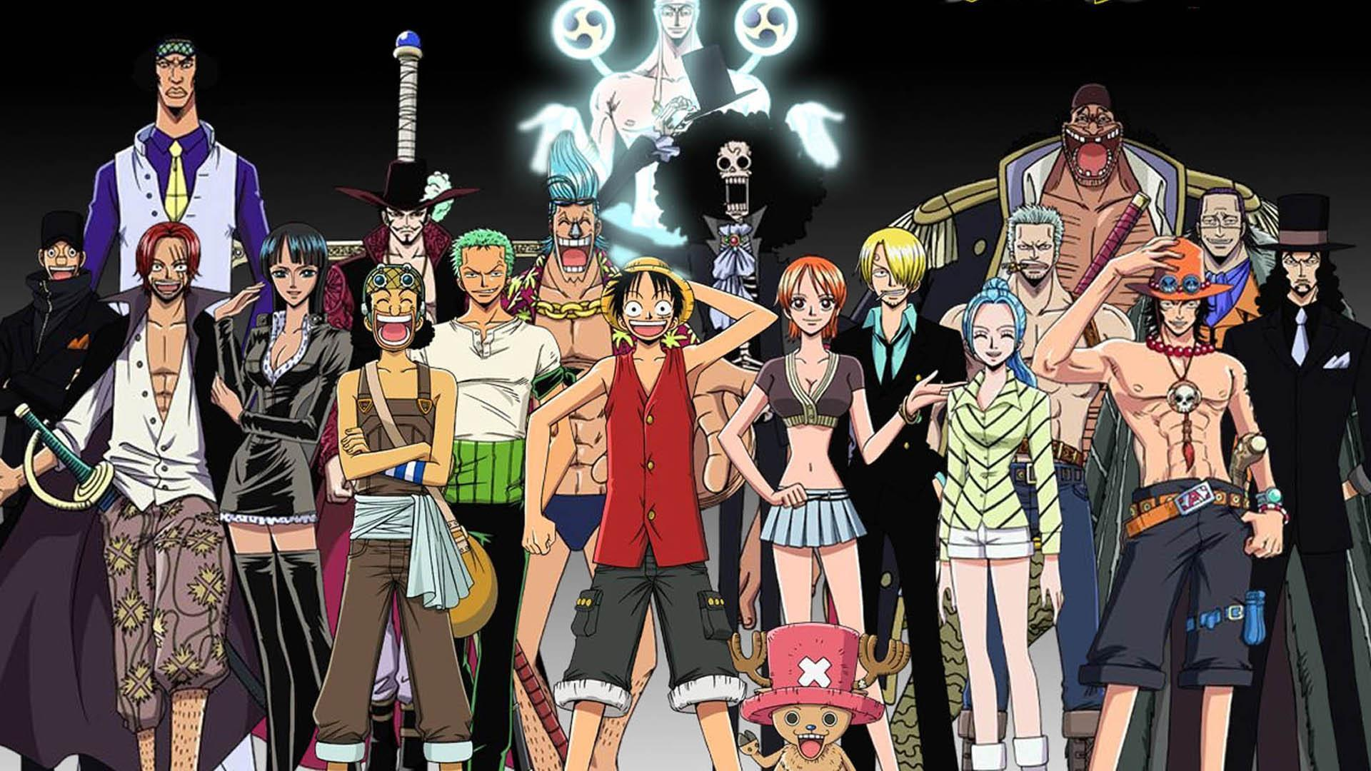 1 Piece Anime Characters : One piece wallpapers  wallpaper cave