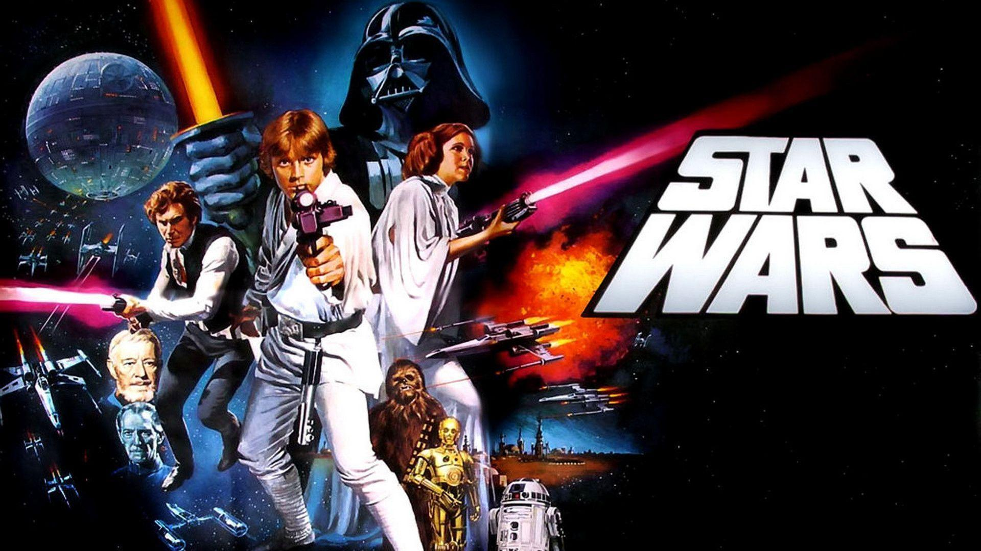 Star Wars Episode IV A New Hope Wallpaper, HD 1080p 6