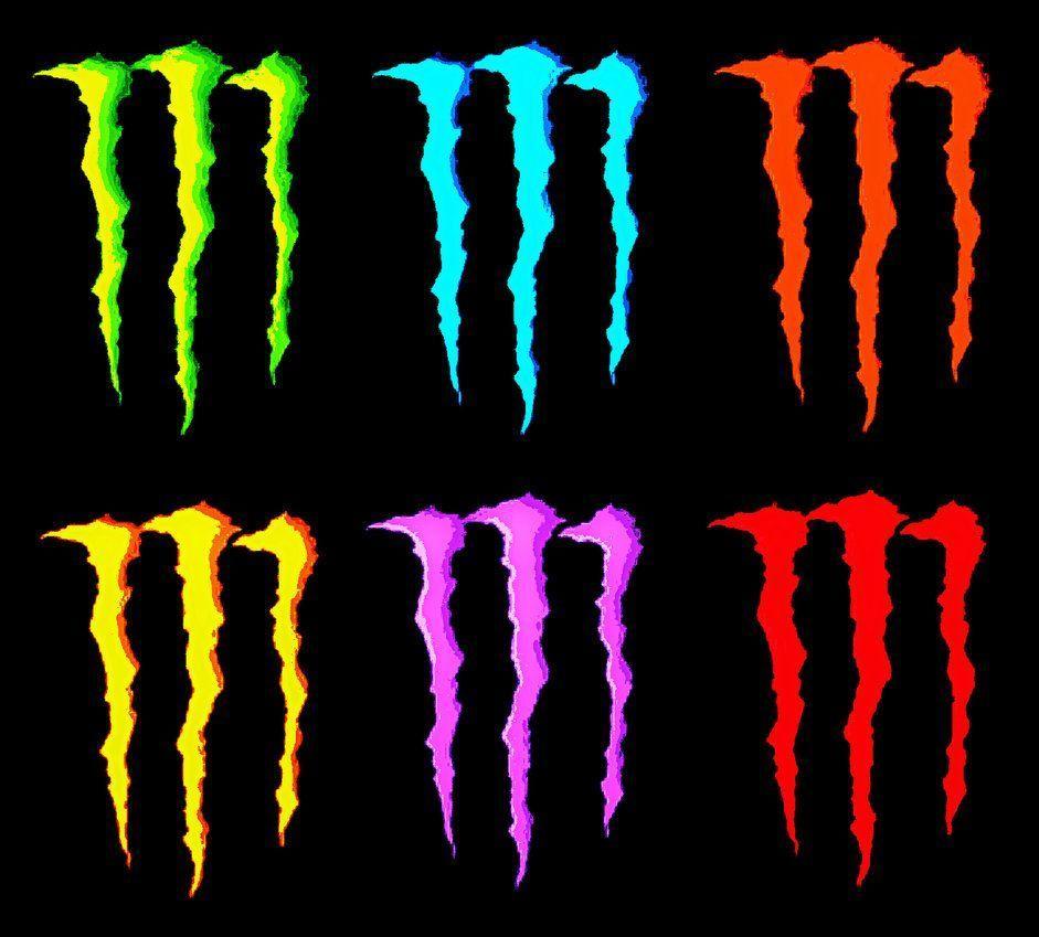 monster energy drink logo wallpapers wallpaper cave