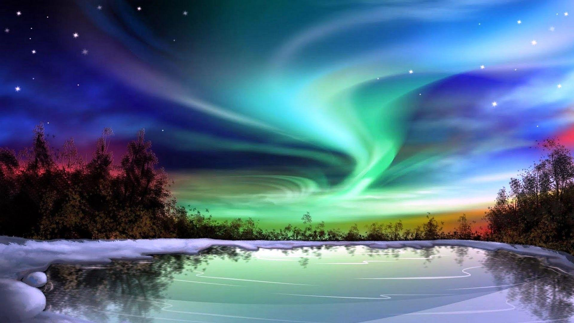 northern lights wallpapers wallpaper cave. Black Bedroom Furniture Sets. Home Design Ideas