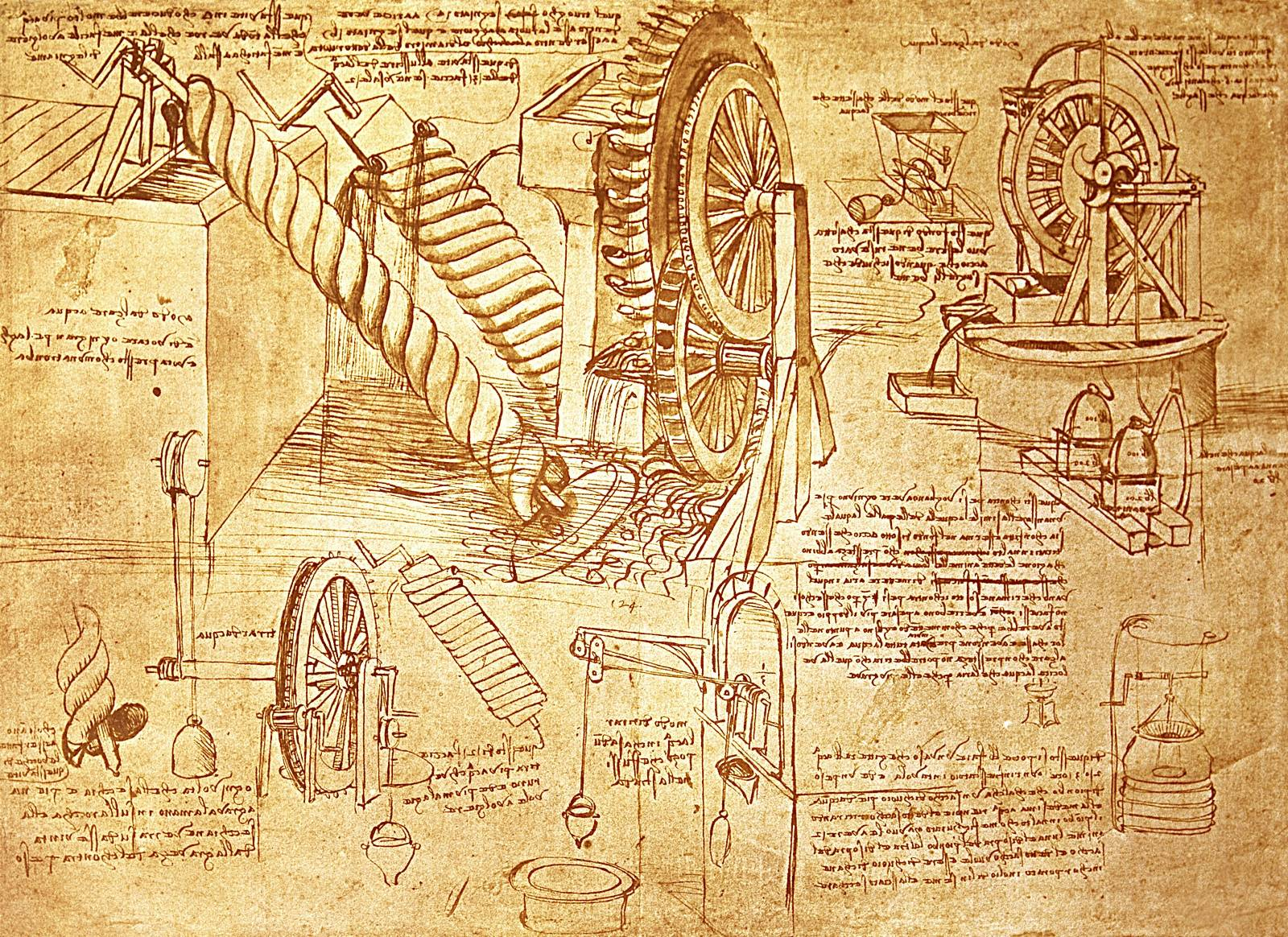 Leonardo da Vinci Reproductions & Prints