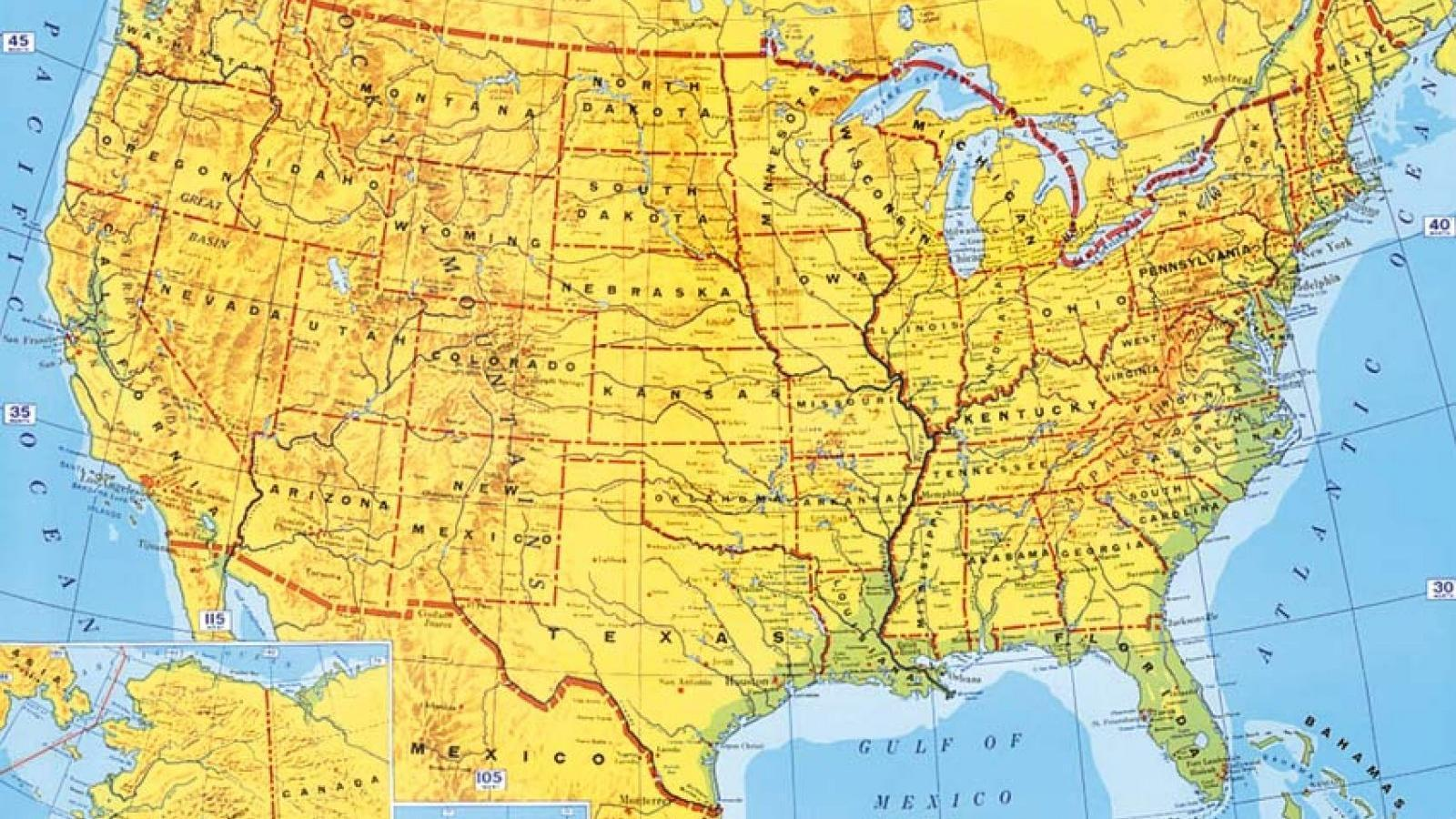 map of north maerica with Us Map Wallpaper on Blank Canada Map together with Mapa De America Del Norte Infografia Infographic Maps besides  likewise United Stated Map further 289855.