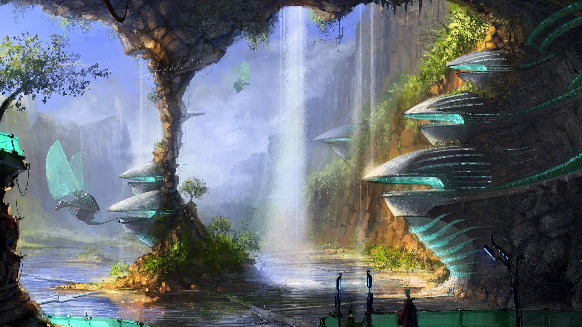 Download Fantasy Science Wallpapers 1920x1080