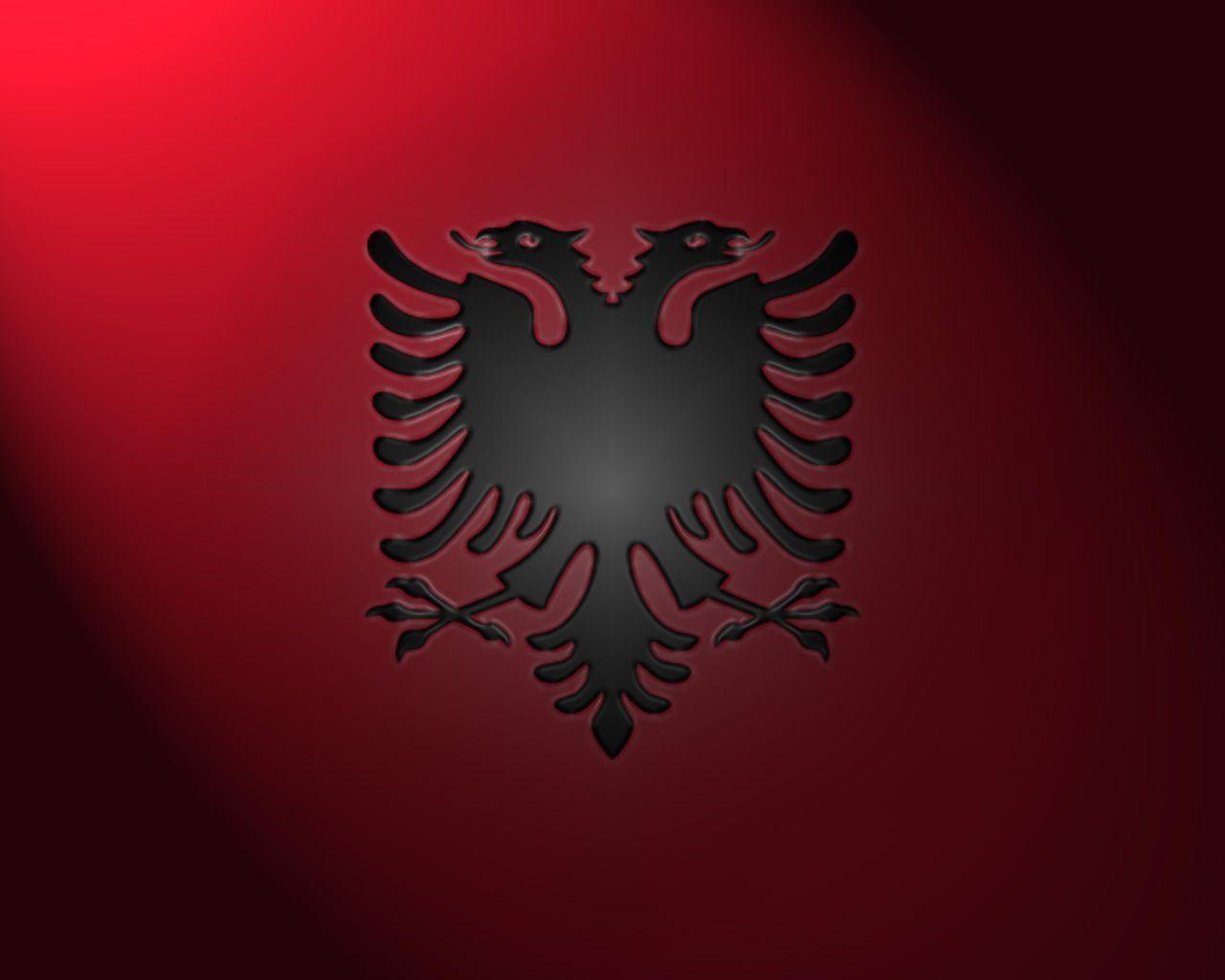 Albania Communist Flag