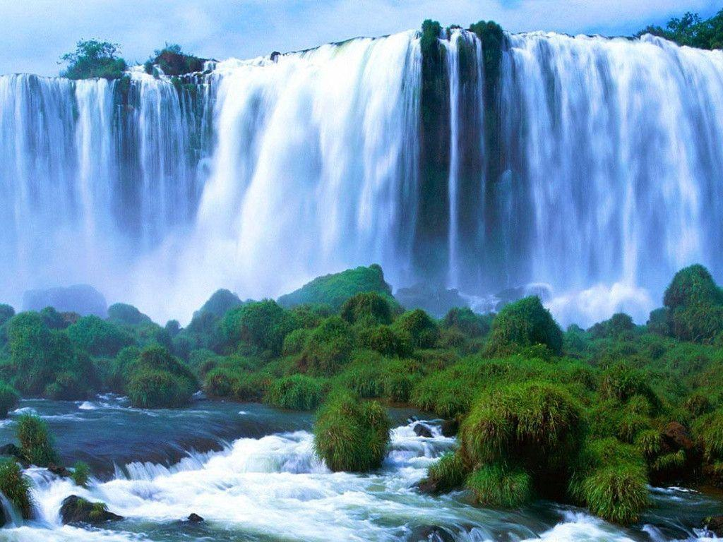 1024x768 Victoria Falls desktop PC and Mac wallpapers