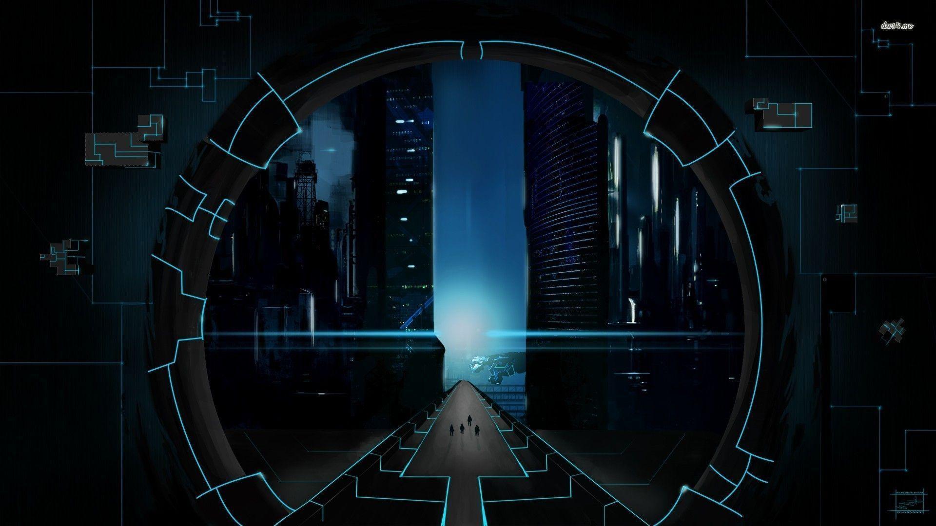 black hi tech wallpaper hd - photo #12