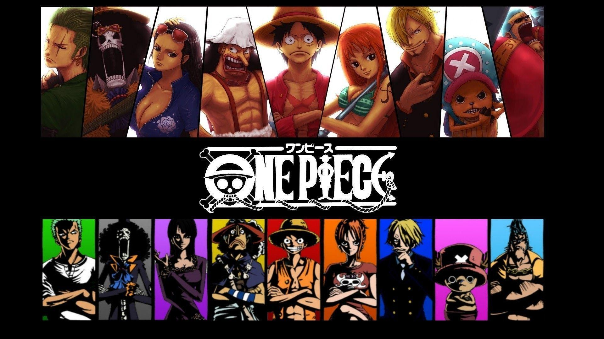One Piece Crew Wallpaper