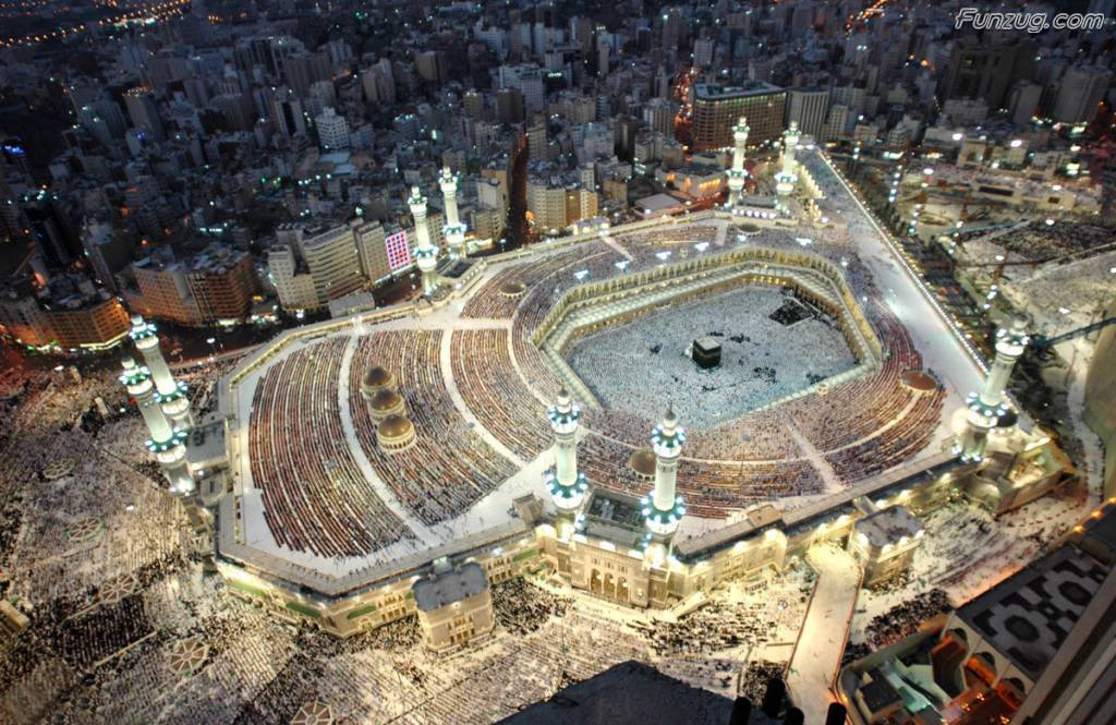 Funzug.com | Beautiful Mecca City Wallpapers | Modern, City ...