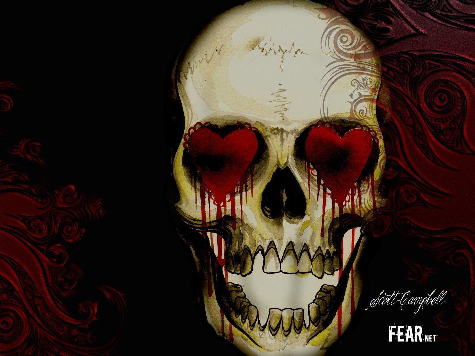 Horror Skull Wallpapers - Wallpaper Cave  Horror Skull Wa...