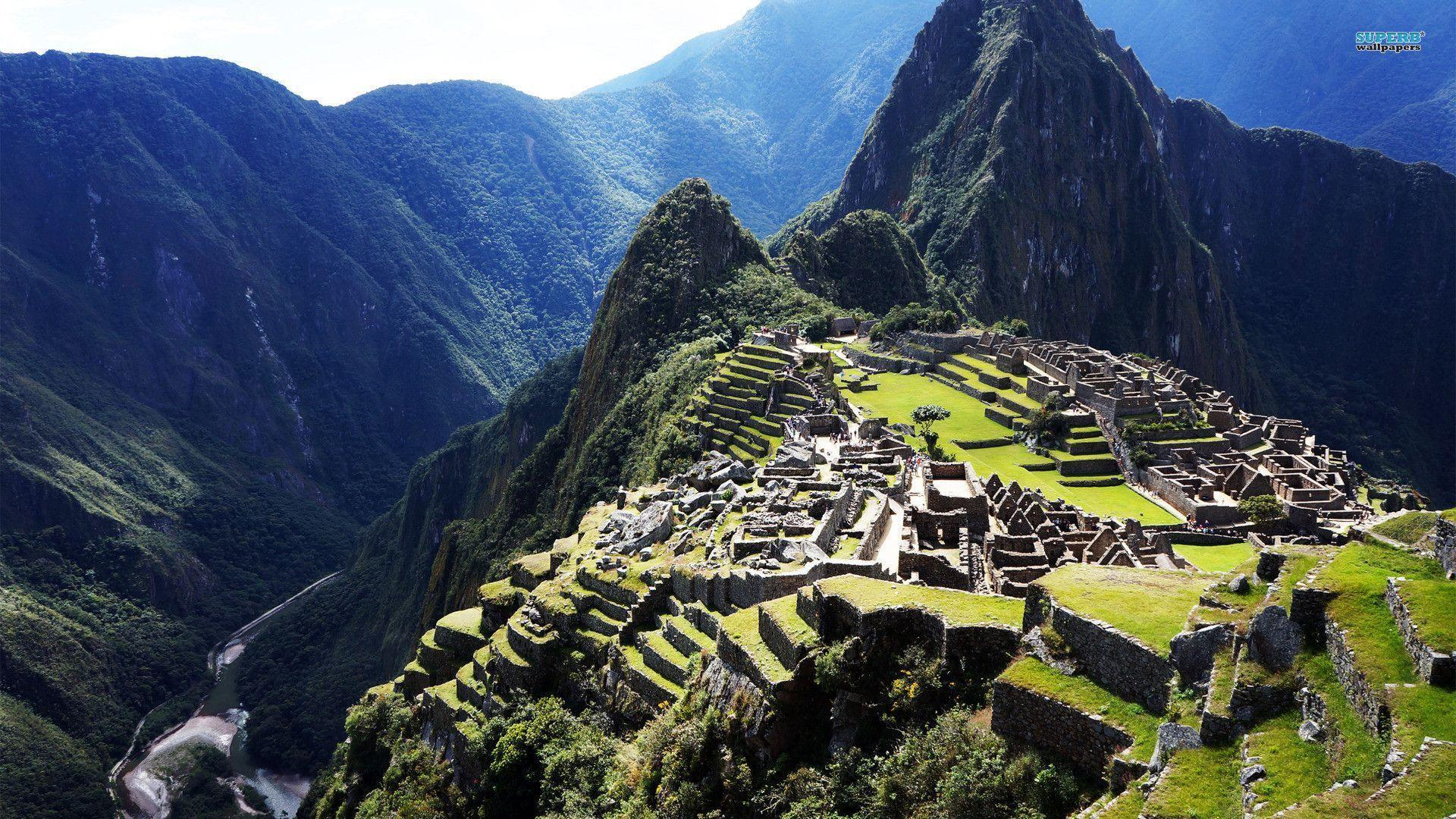Historic Sanctuary of Machu Picchu wallpaper - World wallpapers - #
